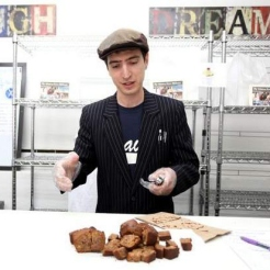 Michael Akers, majitel pekárny Home Free Bagels, USA